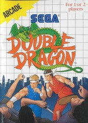 Double Dragon (Sega Master System) Pre-Owned: Game, Manual, and Case