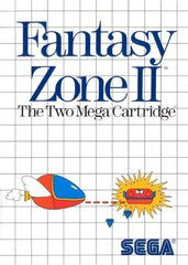 Fantasy Zone II (Sega Master System) Pre-Owned: Game, Manual, and Case