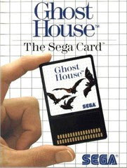 Ghost House (Sega Master System) Pre-Owned: Game, Manual, and Case