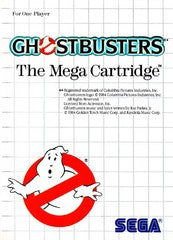 Ghostbusters (Sega Master System) Pre-Owned: Game, Manual, and Case