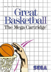 Great Basketball (Sega Master System) Pre-Owned: Game, Manual, and Case