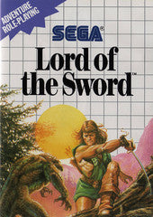 Lord of the Sword (Sega Master System) Pre-Owned: Game and Case