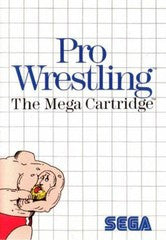 Pro Wrestling (Sega Master System) Pre-Owned: Game, Manual, and Case