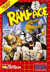 Rampage (Sega Master System) Pre-Owned: Game, Manual, and Case