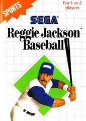 Reggie Jackson Baseball (Sega Master System) Pre-Owned: Game, Manual, and Case