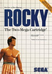 Rocky (Sega Master System) Pre-Owned: Game, Manual, and Case