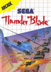 Thunder Blade (Sega Master System) Pre-Owned: Game and Case