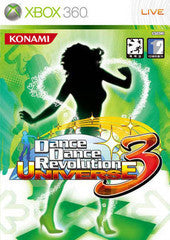 Dance Dance Revolution Universe 3 (Xbox 360) Pre-Owned: Game, Manual, and Case