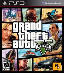Grand Theft Auto V (Playstation 3) Pre-Owned: Game, Manual, and Case