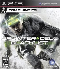 Splinter Cell: Blacklist (Playstation 3) Pre-Owned: Game and Case