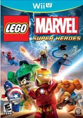 LEGO Marvel Super Heroes (Nintendo Wii U) Pre-Owned: Game and Case