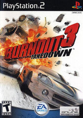 Burnout 3 Takedown (Playstation 2 / PS2) Pre-Owned: Game, Manual, and Case