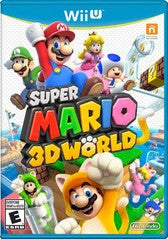 Super Mario 3D World (Nintendo Wii U) Pre-Owned: Game, Manual, and Case