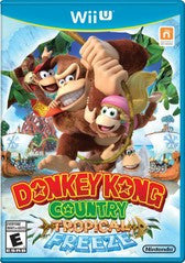 Donkey Kong Country Tropical Freeze (Nintendo Wii U) Pre-Owned: Game, Manual, and Case