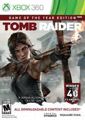 Tomb Raider: Game of the Year Edition (Xbox 360) NEW
