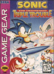 Sonic the Hedgehog: Triple Trouble (Sega Game Gear) Pre-Owned: Cartridge Only