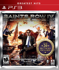 Saints Row IV: National Treasure (Playstation 3) Pre-Owned: Game, Manual, and Case