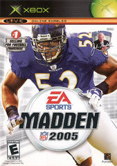 Madden 2005 (Xbox) Pre-Owned: Game, Manual, and Case