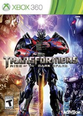 Transformers Rise of the Dark Spark (Xbox 360) Pre-Owned: Game and Case