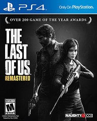 Last of Us Remastered (Playstation 4) Pre-Owned: Game and Case