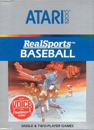 RealSports Baseball (Atari 5200) Pre-Owned: Cartridge Only