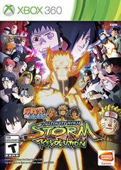 Naruto Shippuden: Ultimate Ninja Storm Revolution (Xbox 360) Pre-Owned: Game and Case