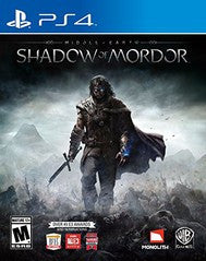 Middle Earth: Shadow of Mordor (Playstation 4) Pre-Owned: Game, Manual, and Case