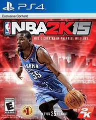 NBA 2K15 (Playstation 4) Pre-Owned: Game, Manual, and Case