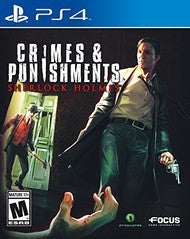 Sherlock Holmes: Crimes & Punishments (Playstation 4) Pre-Owned: Game, Manual, and Case