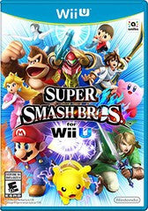 Super Smash Bros. (Nintendo Wii U) Pre-Owned: Game, Manual, and Case