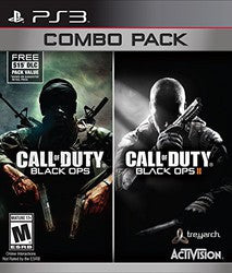 Call of Duty: Black Ops Combo Pack (Playstation 3 / PS3) Pre-Owned: Games, Manual, and Case