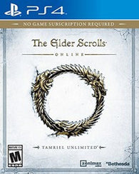 Elder Scrolls Online: Tamriel Unlimited (Playstation 4) Pre-Owned: Game, Manual, and Case