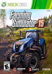 Farming Simulator 15 (Xbox 360) Pre-Owned: Game, Manual, and Case