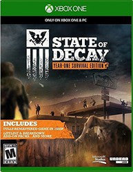 State of Decay: Year-One Survival Edition (Xbox One) Pre-Owned: Game and Case