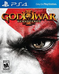 God of War III Remastered (Playstation 4) Pre-Owned: Game and Case