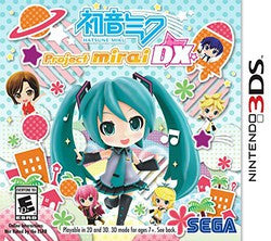 Hatsune Miku: Project Mirai DX (Nintendo 3DS) Pre-Owned: Game, Manual, and Case