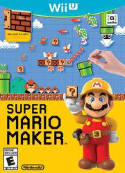 Super Mario Maker (Nintendo Wii U) Pre-Owned: Game, Manual, and Case