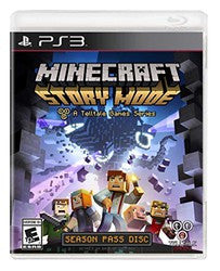 Minecraft: Story Mode (Playstation 3) Pre-Owned: Game, Manual, and Case