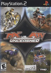 MX vs ATV Unleashed (Playstation 2 / PS2) Pre-Owned: Game, Manual, and Case