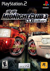 Midnight Club 3 Dub Edition (Playstation 2 / PS2) Pre-Owned: Game, Manual, and Case