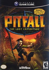 Pitfall: The Lost Expedition (Nintendo GameCube) Pre-Owned: Game, Manual, and Case