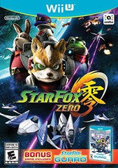 Star Fox Zero + Star Fox Guard (Nintendo Wii U) Pre-Owned: Games, Manuals, and Cases