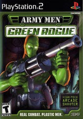 Army Men Green Rogue (Playstation 2 / PS2) Pre-Owned: Game, Manual, and Case