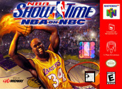 NBA Showtime: NBA on NBC (Nintendo 64 / N64) Pre-Owned: Cartridge Only