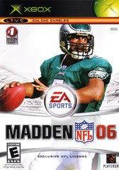 Madden 2006 (Xbox) Pre-Owned: Game, Manual, and Case