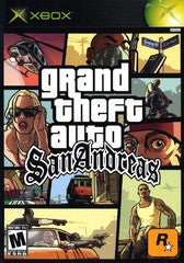 Grand Theft Auto San Andreas (Xbox) Pre-Owned: Game and Case