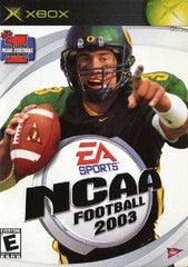 NCAA Football 2003 (Xbox) Pre-Owned: Game, Manual, and Case