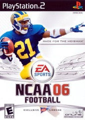 NCAA Football 2006 (Playstation 2 / PS2) Pre-Owned: Game, Manual, and Case