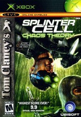 Splinter Cell Chaos Theory (Tom Clancy's) (Xbox) Pre-Owned: Game, Manual, and Case