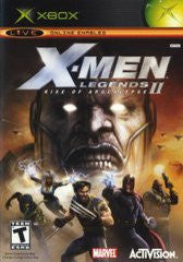 X-men Legends II Rise of the Apocalypse (Xbox) Pre-Owned: Game, Manual, and Case